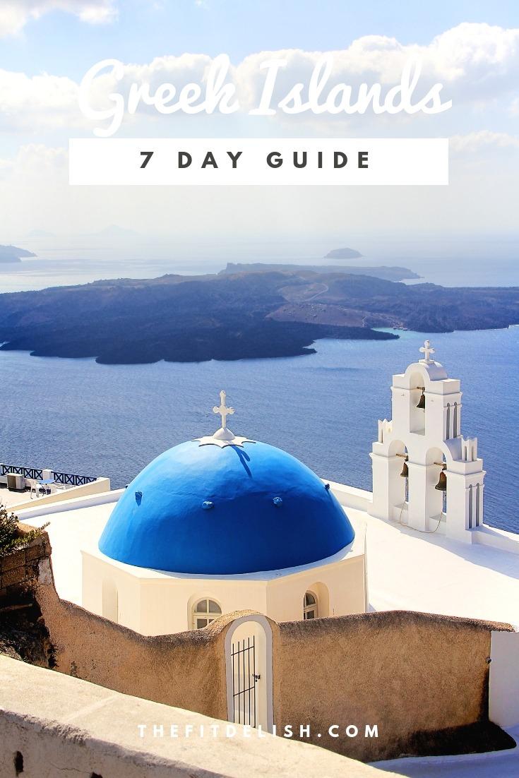 7 Days Greek Islands Itinerary