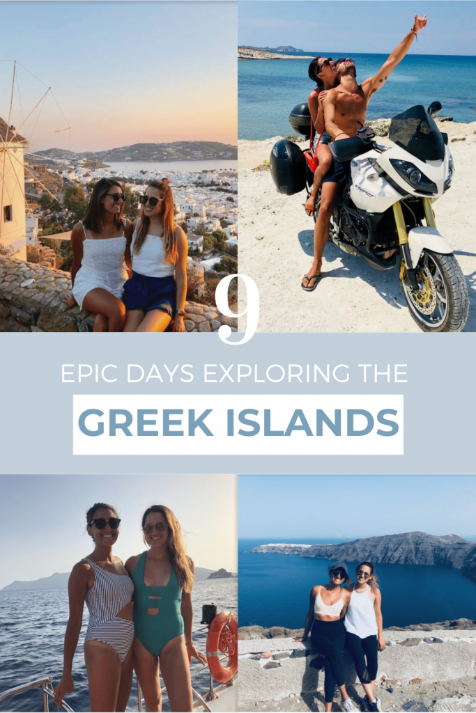 9 Day Greek Islands Itinerary