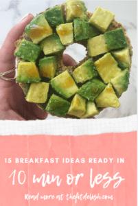 15 Healthy Breakfasts in 10 Min or Less