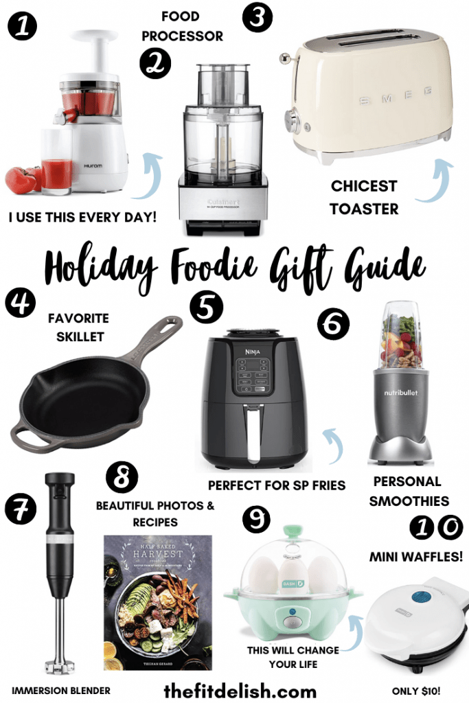 2020 Holiday Gift Guide for the Foodie
