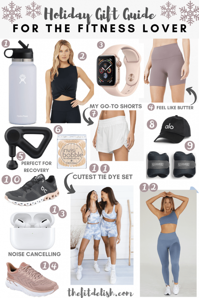Gift Guide for the Fitness Lover - 2020|The Fit Delish