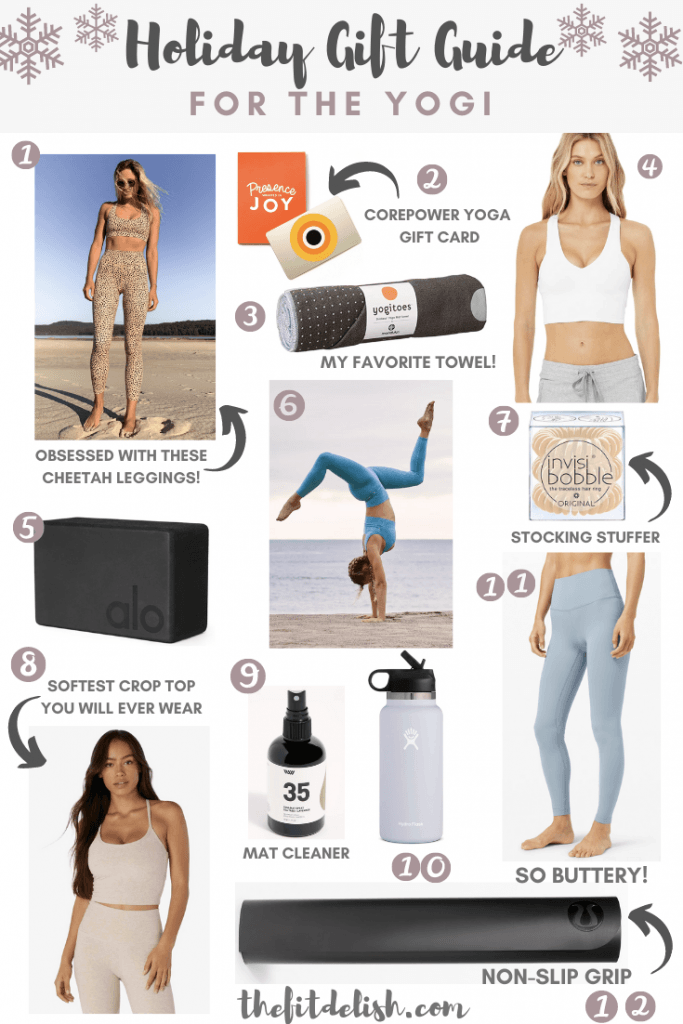 2020 Holiday Gift Guide for the Yogi | The Fit Delish
