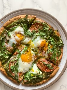 Easy Healthy Breakfast Pizza | GF, Dairy-Free, High Protein