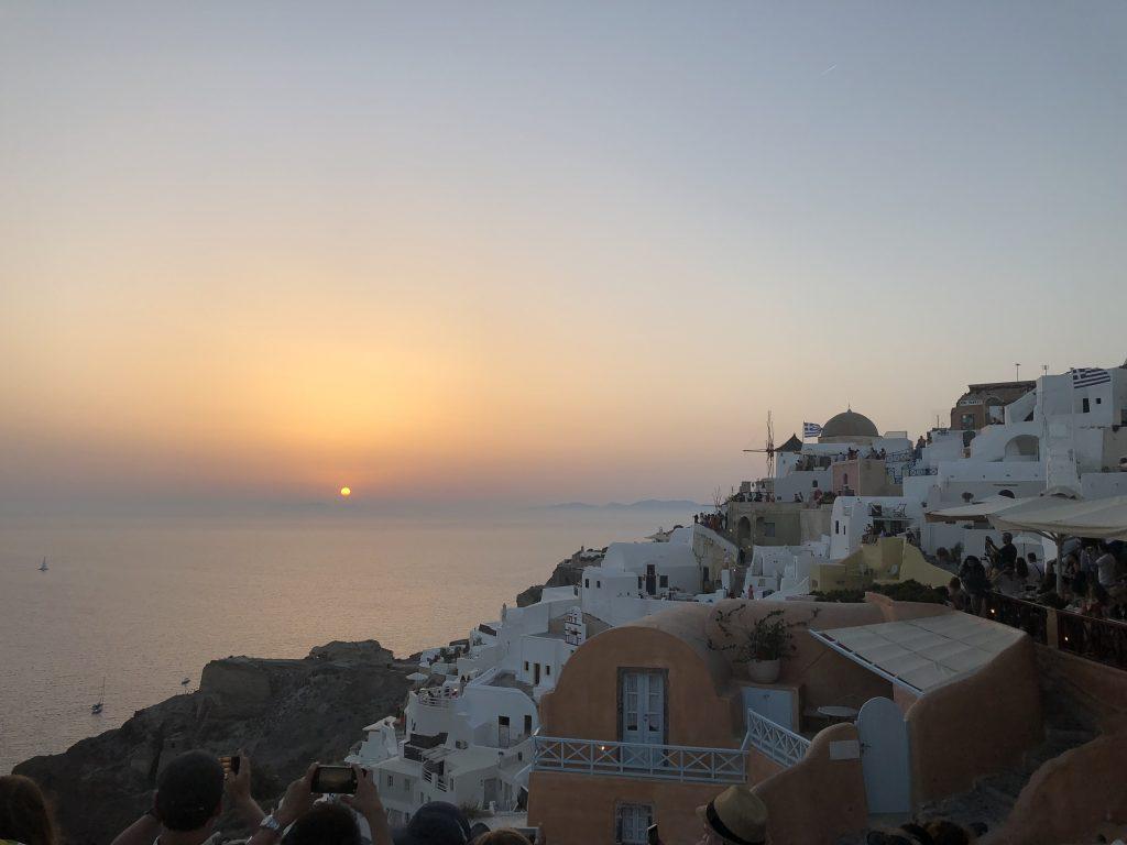 Santorini Greece Sunset - Full Itinerary
