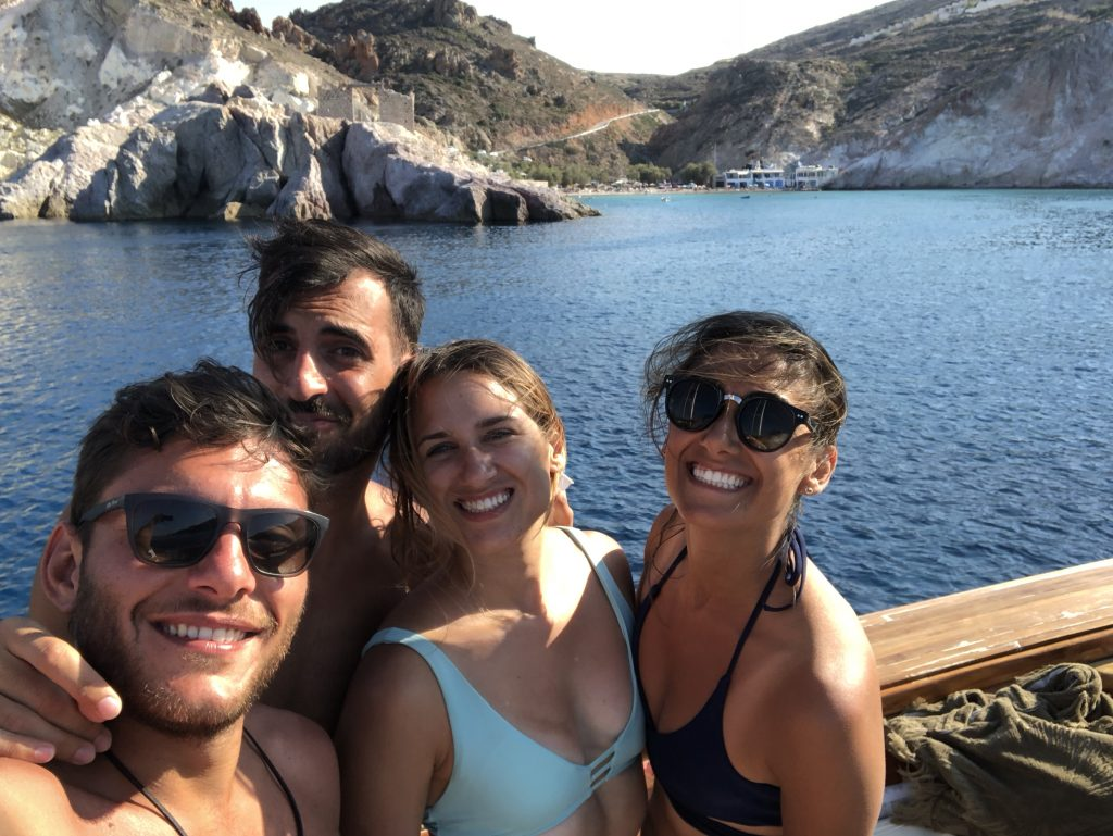 Milos Greece Boat Day
